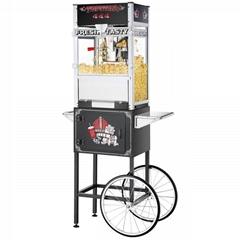 12 Ounce Popcorn Machines with Cart (6209)