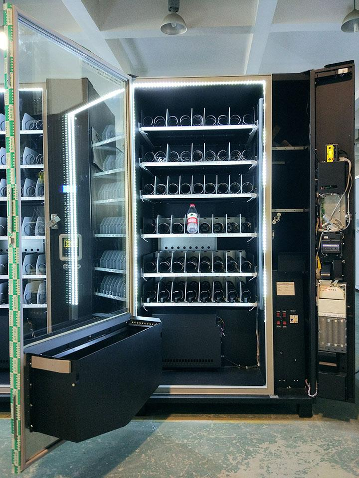 Large Snack & Drink Combo Vending Machine (KM006) 4