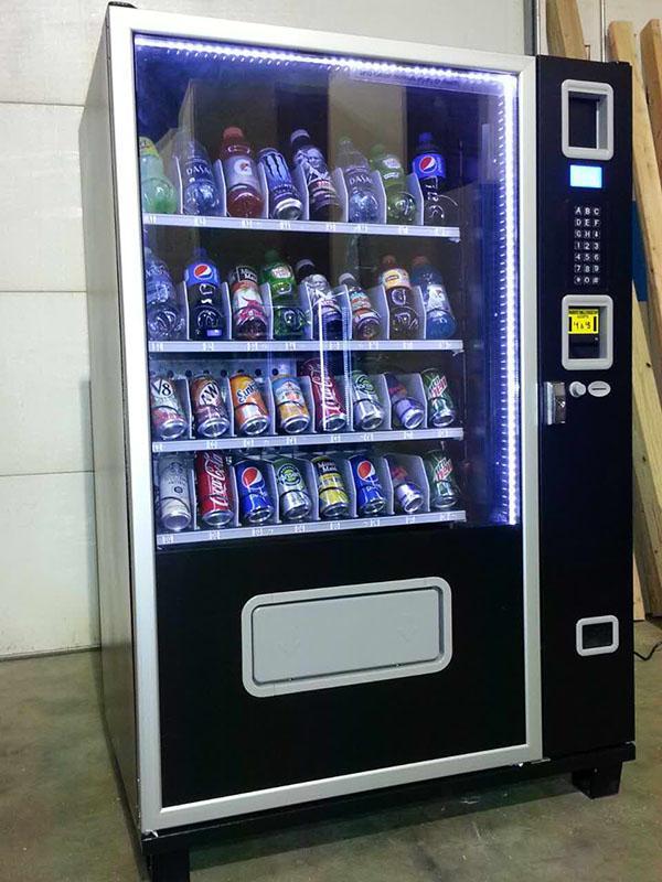 Small Snack & Soda Combo Vending Machine (KM408) 3