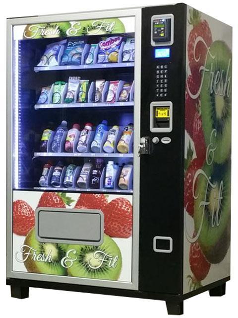 Small Snack & Soda Combo Vending Machine (KM408) 5