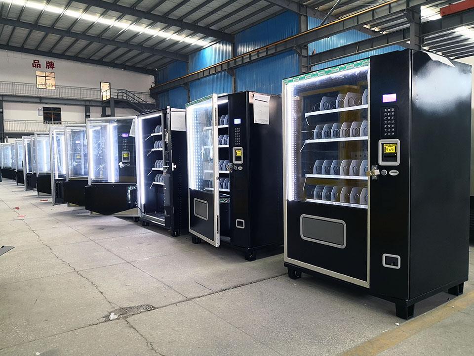 Small Snack & Soda Combo Vending Machine (KM408) 9