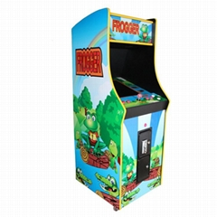Classcial upright arcade cabinet froger game machine (G065)