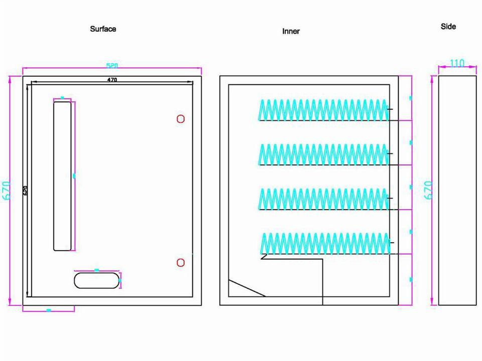 4-Selection Sanitary Product Vending Machine (TR644) 4