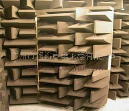 润裕优质消声室 吸声尖劈 消声材料 1