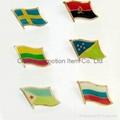Flag cufflinks
