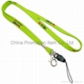Lanyard with mobile strap&mobile phone