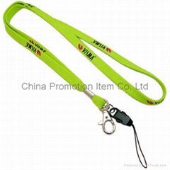 Lanyard with mobile strap&mobile phone strap