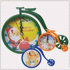 Bicycle photo Frame&Clock