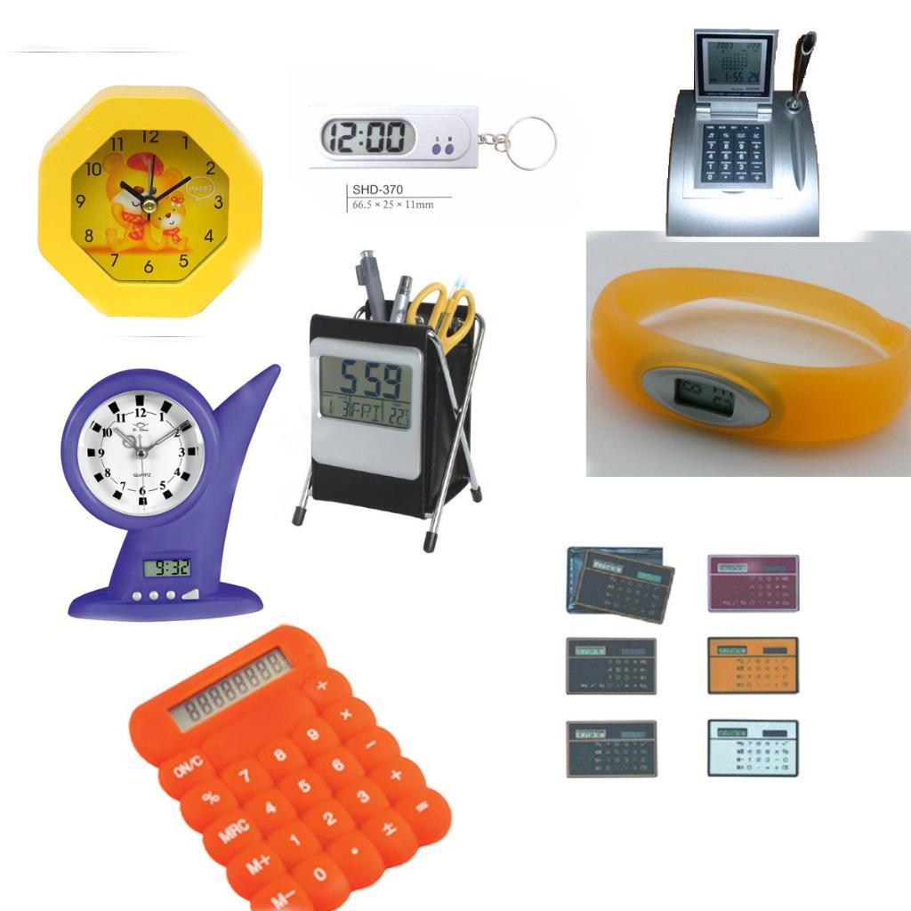 Calculator&watch&clock 1