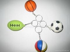 球型钥匙扣,钥匙链