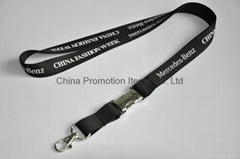 Lanyard with metal buckle