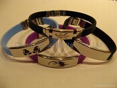 China silicone bracelet&silicone product