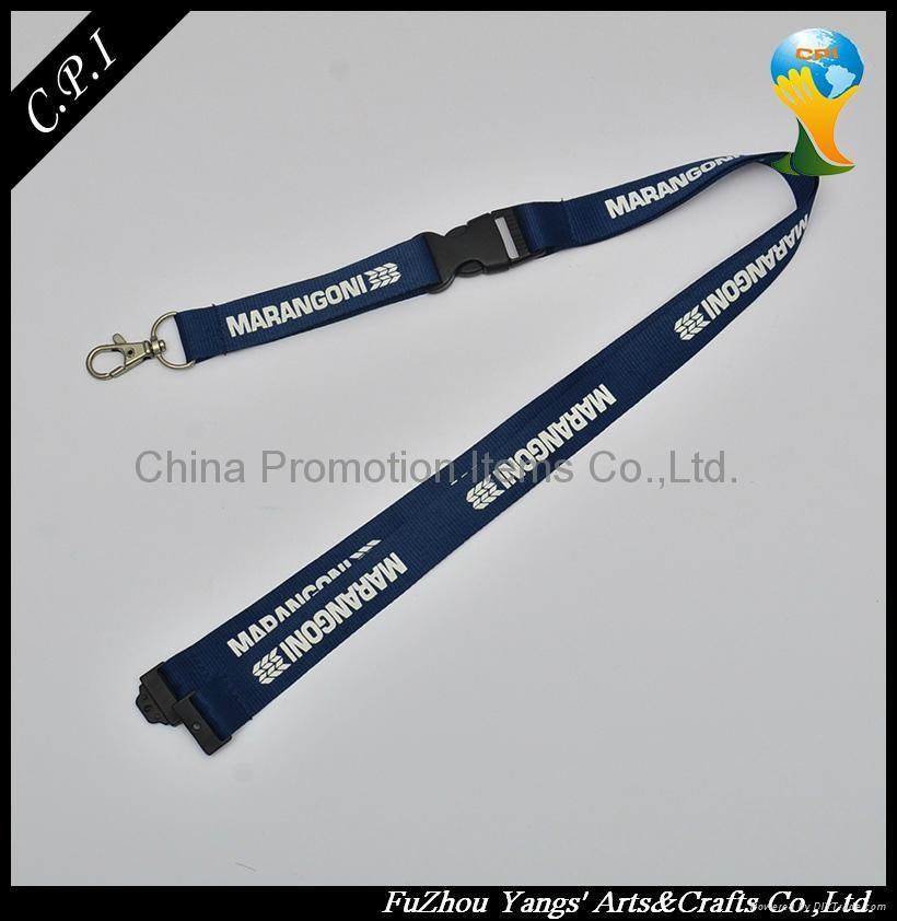 promotion silkscreen printing lanyard 1