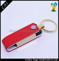 Full Capacity PU USB Flash Drives 2.0