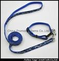 Promotion dog leash and dog collar with custom logo no minimum order