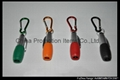 Gift plastic ball pen with carabiner hook