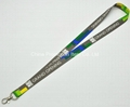 Sublimation lanyard with snap hook