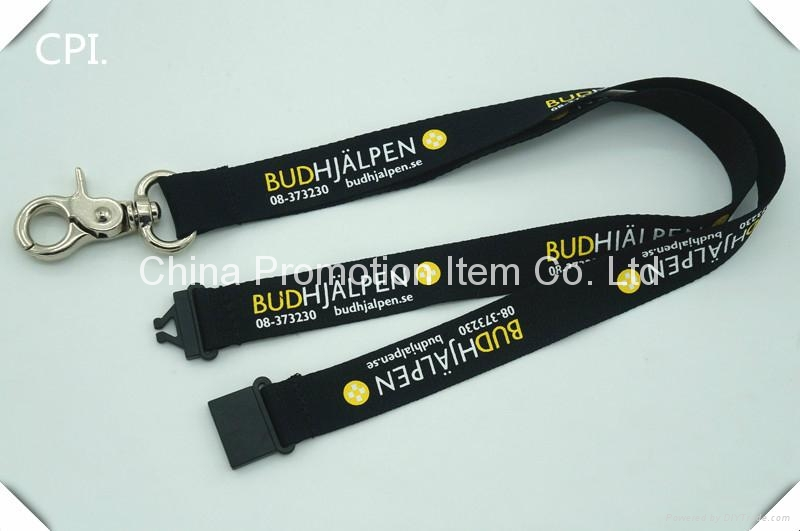 Heavy big crab clip hook lanyard used for specified purpose