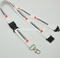 Printing lanyard with buckles
