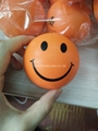 Custom cheap smile soft PU anti stress