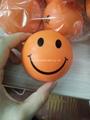Custom cheap smile soft PU anti stress ball/toy