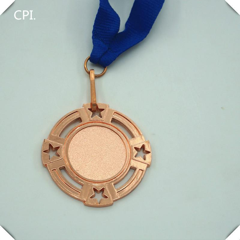 Your own design medal blue lanyard for sport compaigns 3