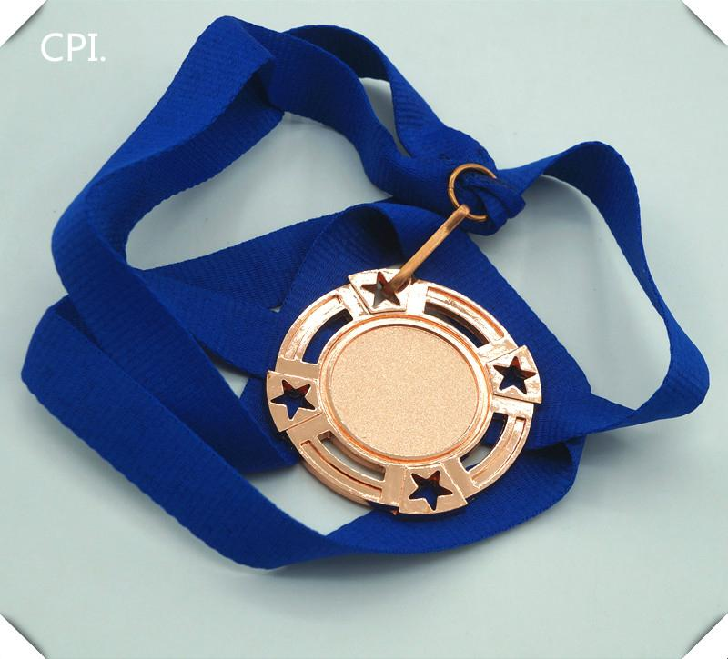 Your own design medal blue lanyard for sport compaigns 4