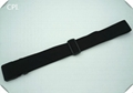 Cheap black polyester luggage belt strap without any logo