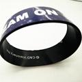 Silicone bracelet with CMYK logo