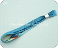 Custom festivel fabric sublimation wristbands no minimum order