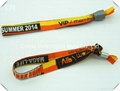 Wholesale colorful woven wristband with