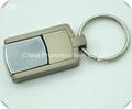 Hot sale souvenir metal usb flash drive with keychain
