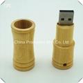 New style wood bamboo book shape USB2.0 flsh drive