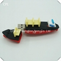 Custom cool vessel type steamer usb flash driver for promotion events