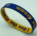 Beautiful new style silicone wristband  3