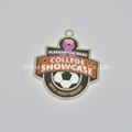 Personalized college showcase 3d medals for pleasanton race