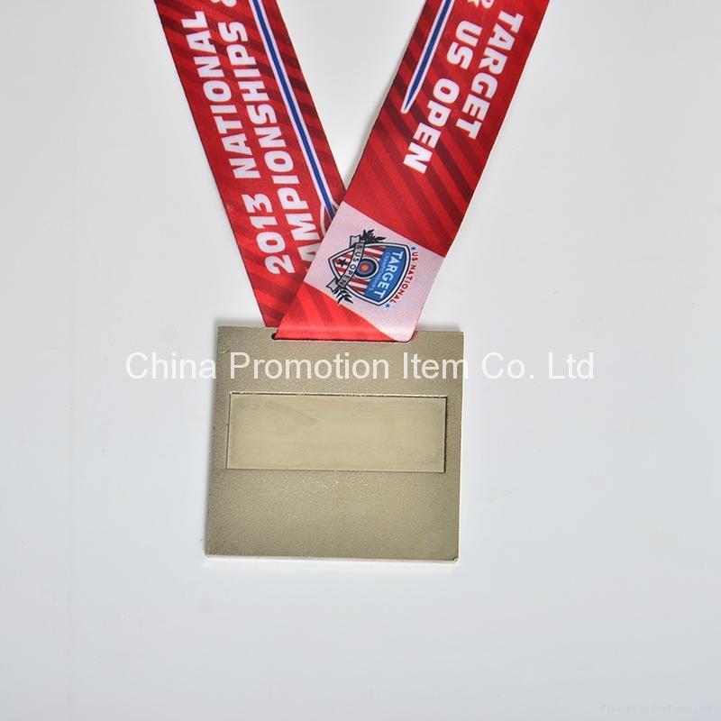 Custom high quanlity souvenir metal medals with ribbon 3