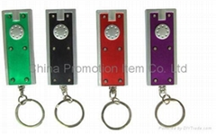 LED torch Keychain&LED t