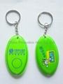 PVC torch keychain&PVC keychain