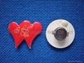 Flashing pins&flashing badge 1
