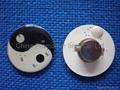 Flashing pins&flashing badge