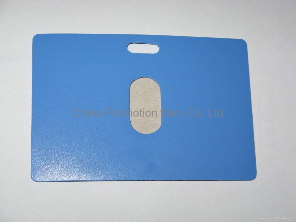 PVC card holder&plastic card holder 2