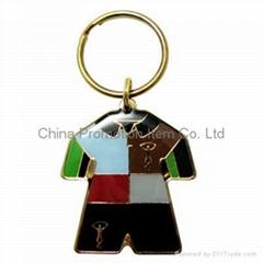 Iron metal keychain&keyr