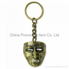 DIY metal keychain&keyri