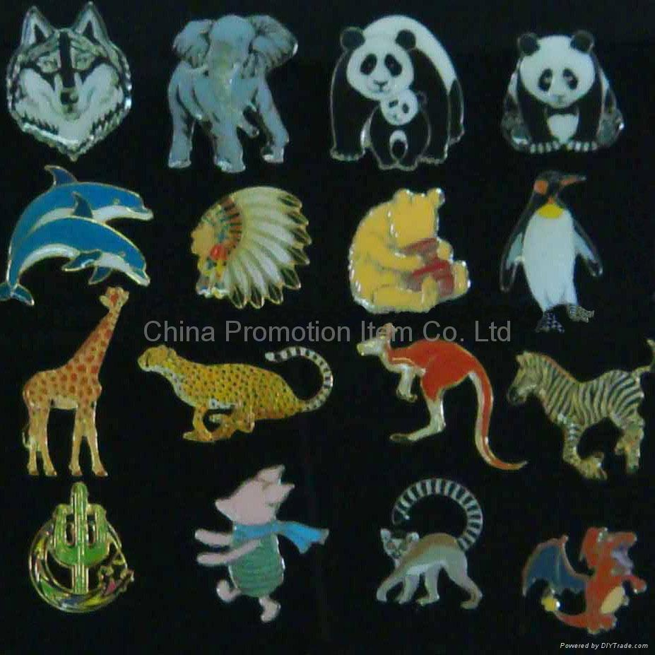 Animal pins&Animal badges&Animal cufflinks 4