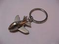 Airplane zinc alloy keychain&Aeroplane