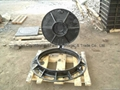 EN124 manhole cover and frame