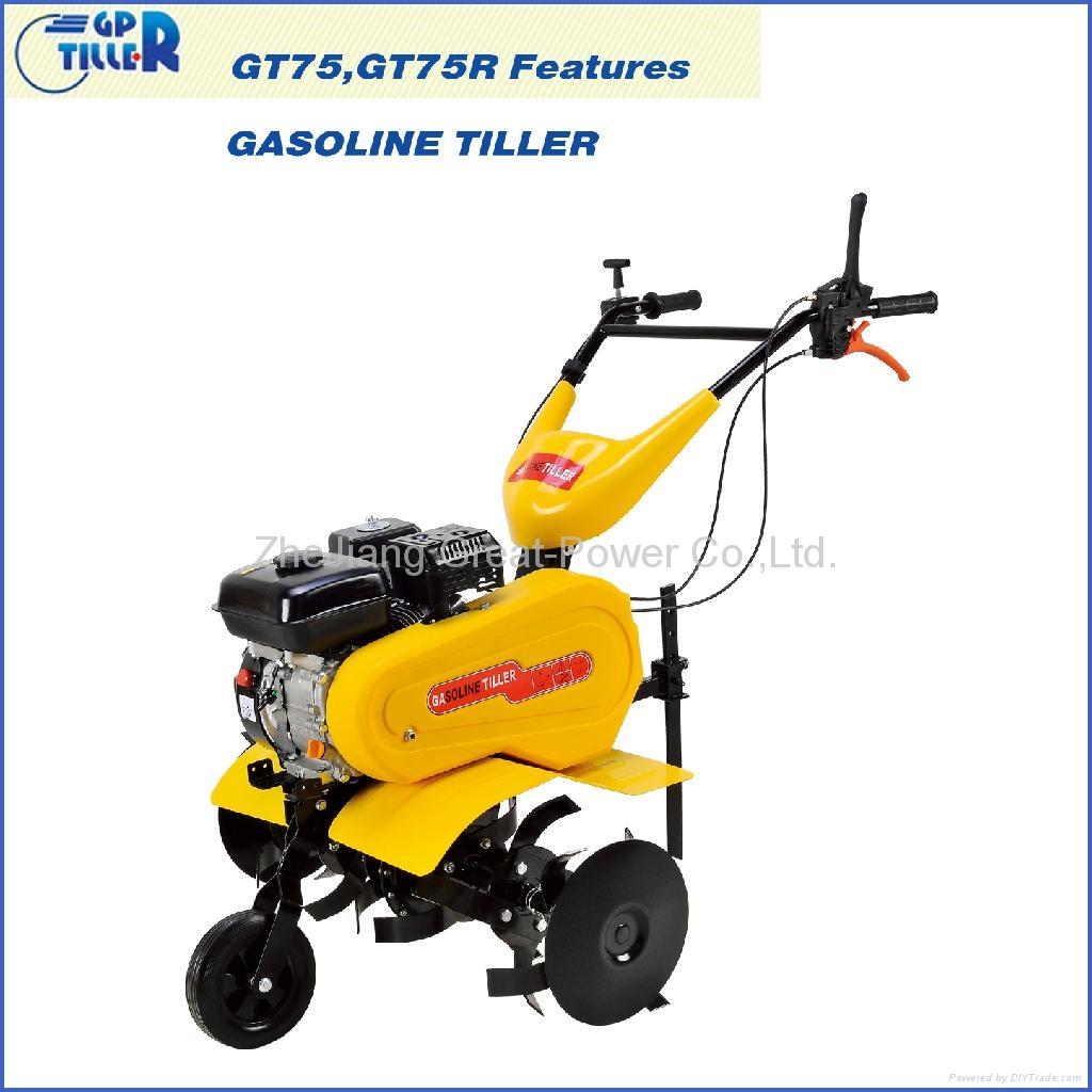 Gasoline tiller GT75 1