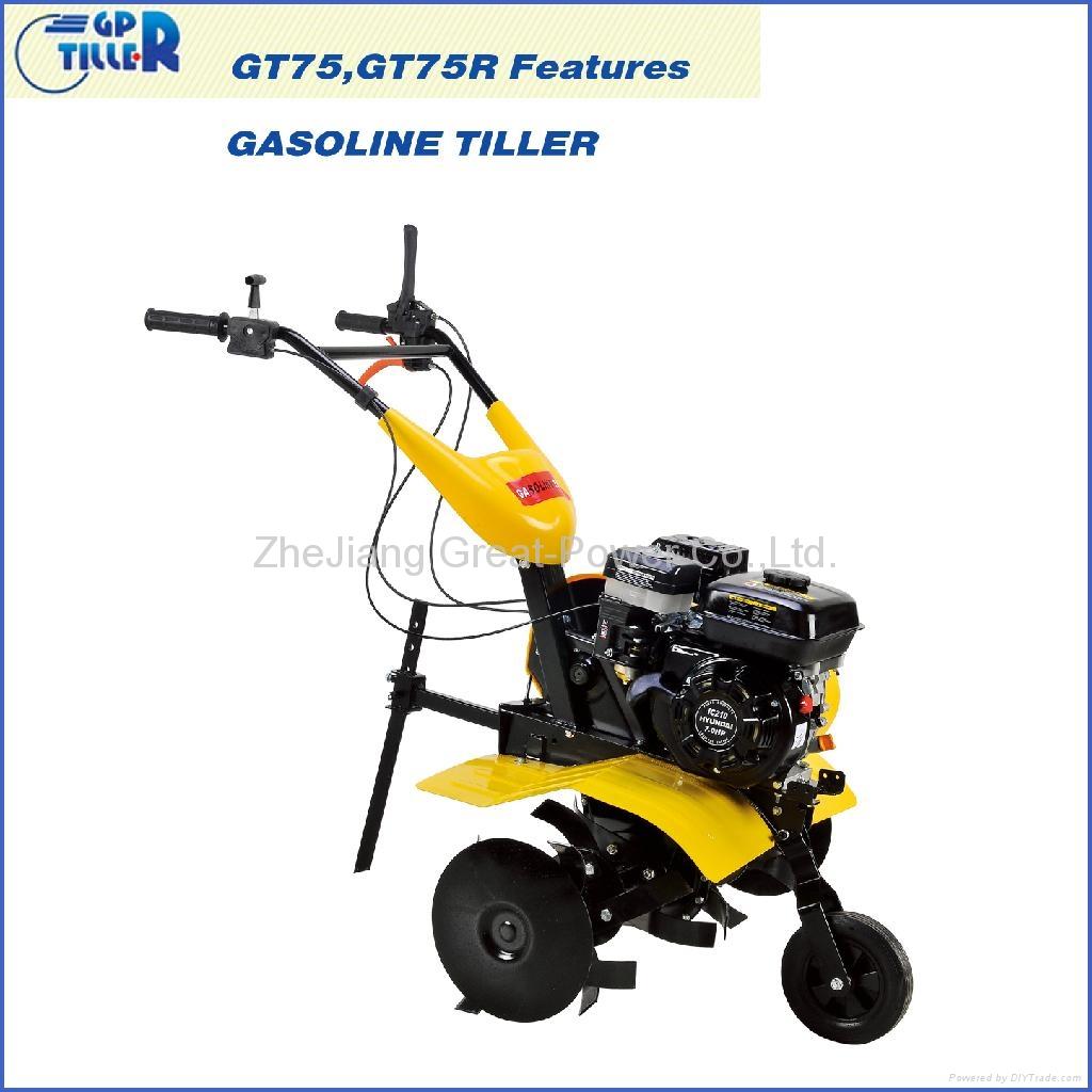 Gasoline tiller GT75 2