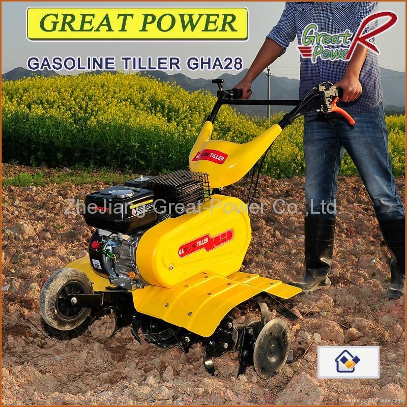 Gasoline tiller GT75 4